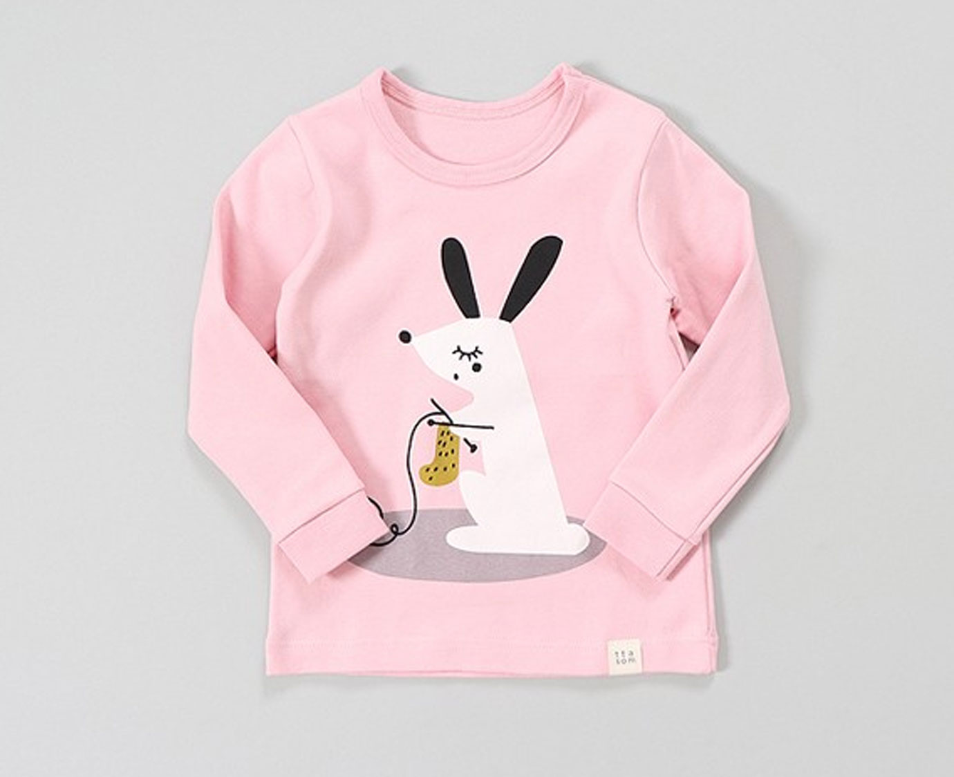 Pyjama 'Knitting Rabbit' 5