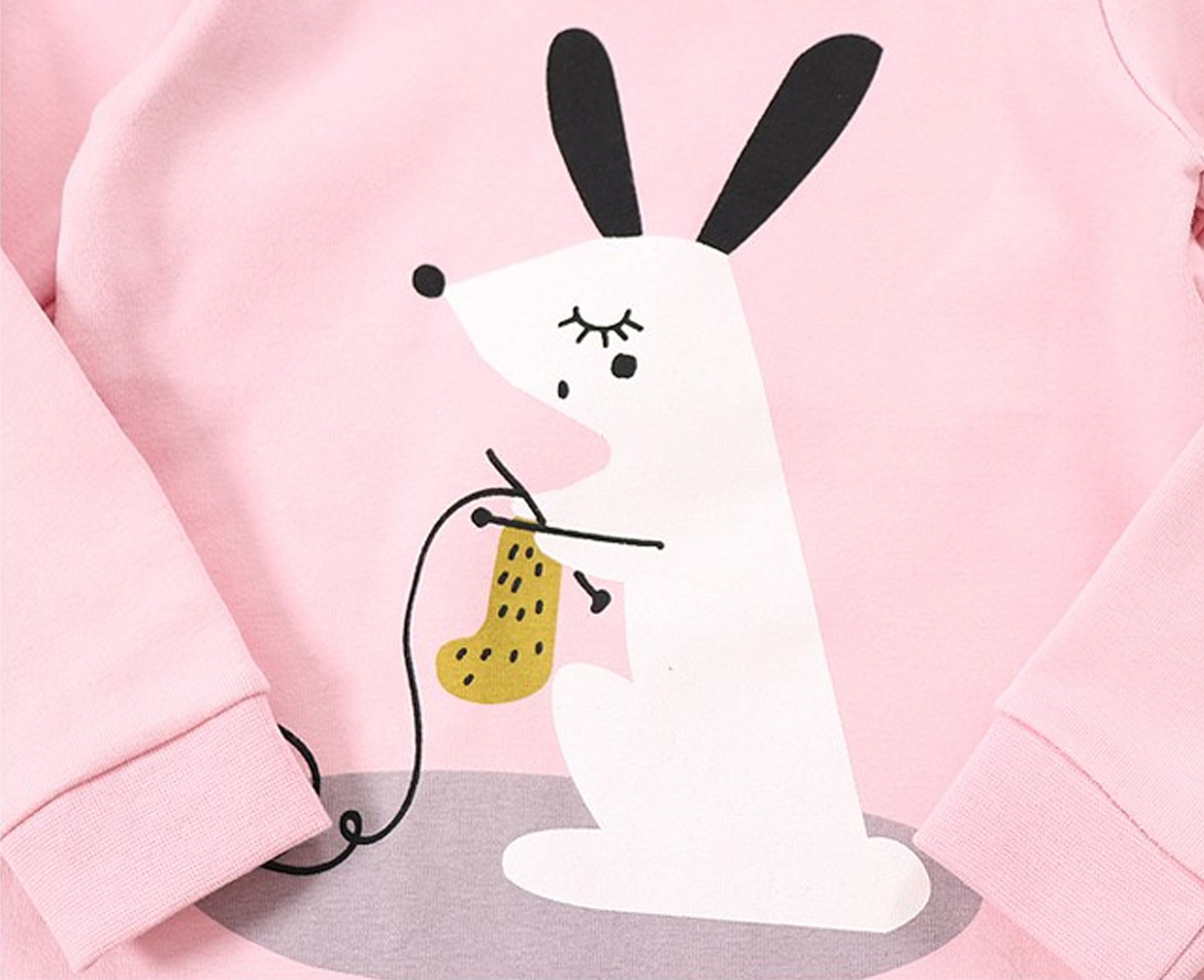 Pyjama 'Knitting Rabbit' 7
