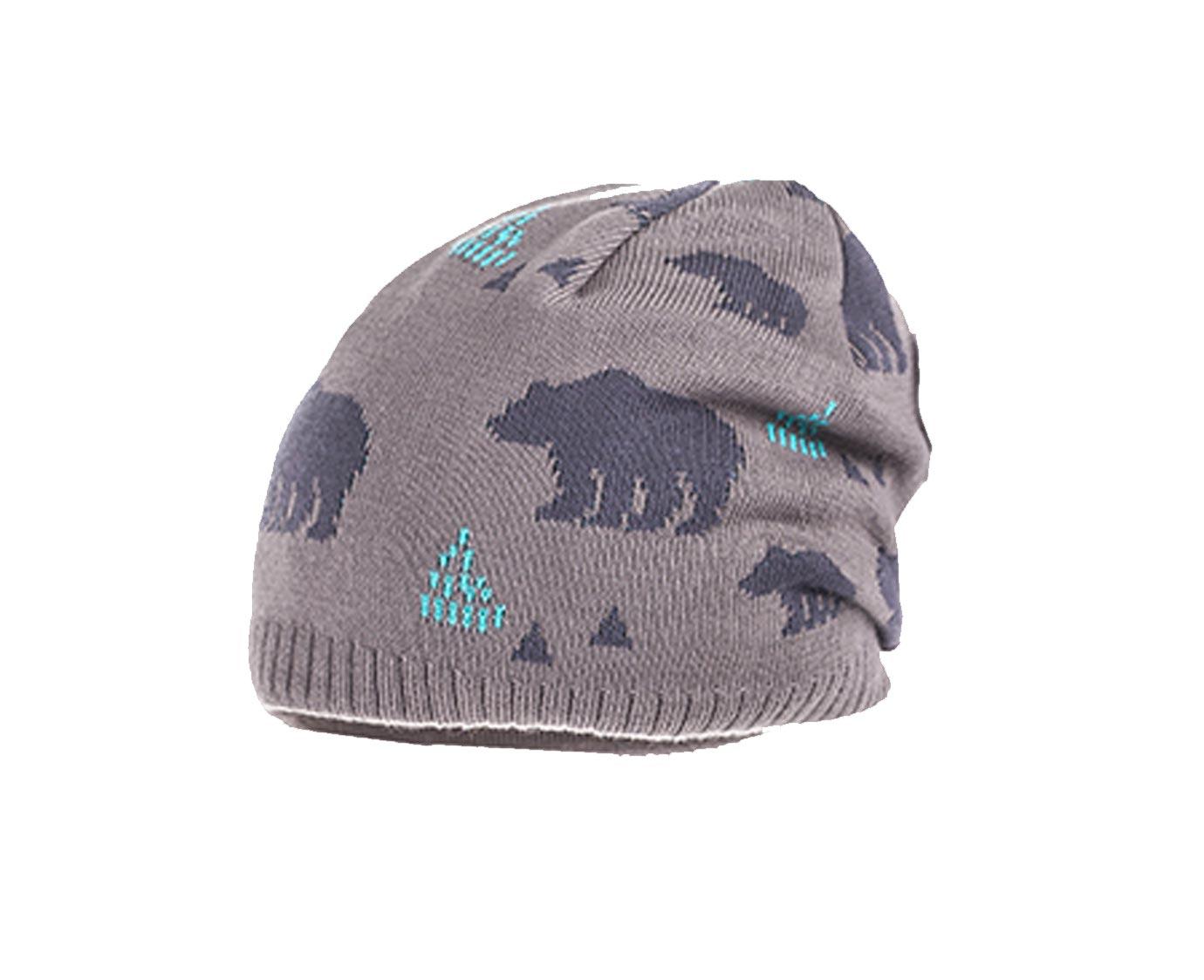 Kindermuts 'Winter bear' 4-8 jaar