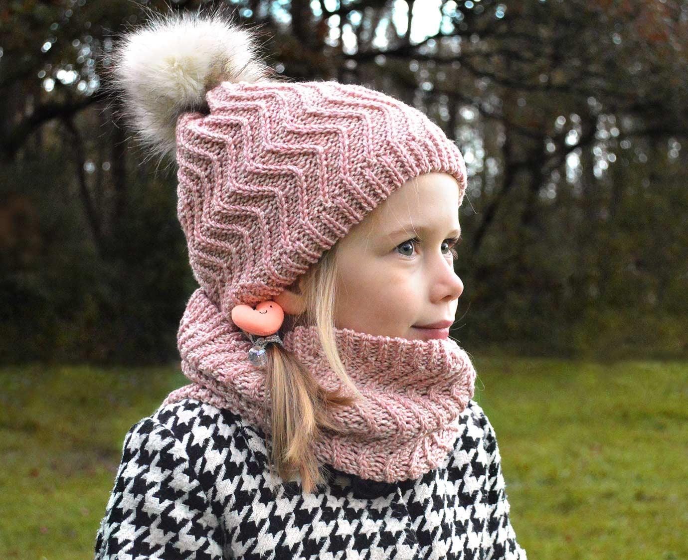 Set 'Pink Knit'