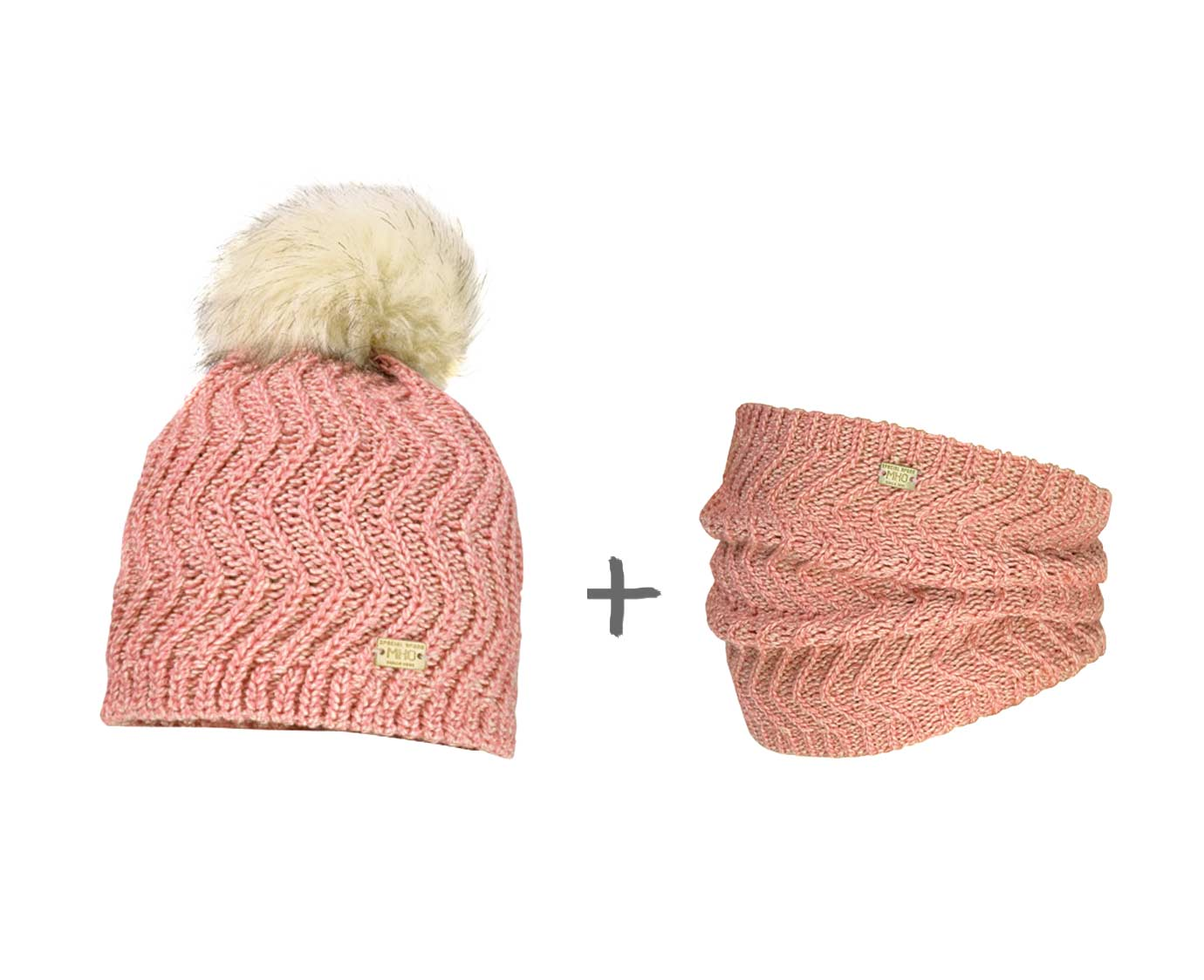 "Set ""Pink Knit"""