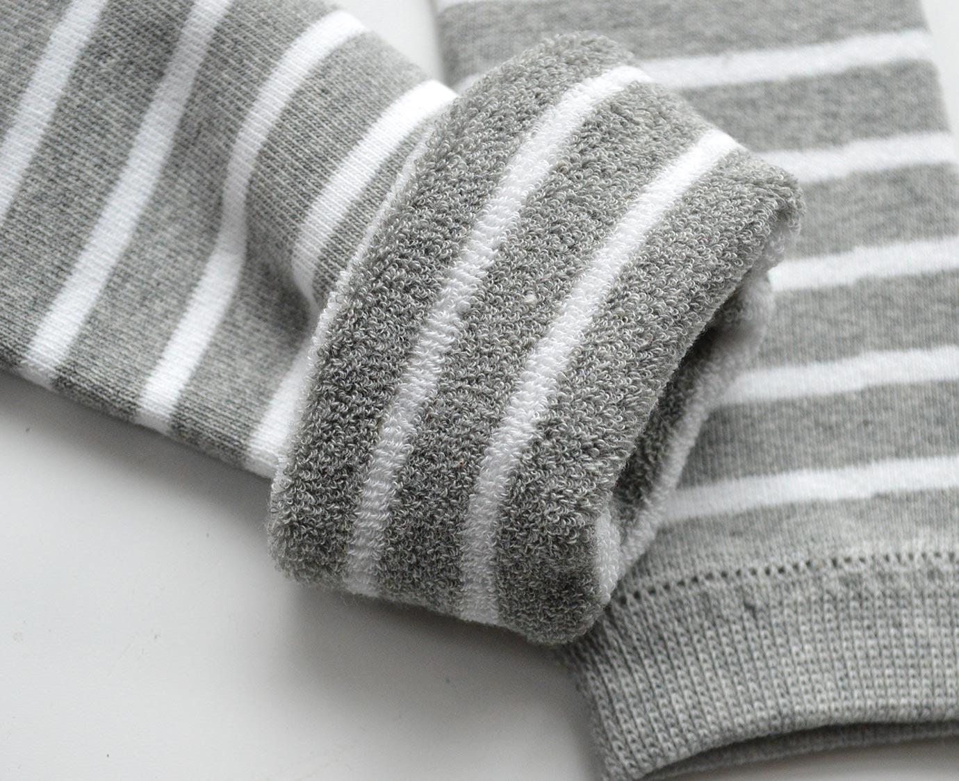 Beenwarmers 'Stripe grey'