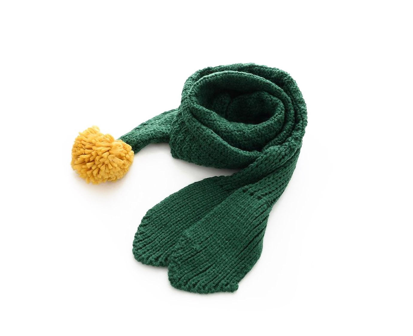 "Sjaal ""Knit Green"""