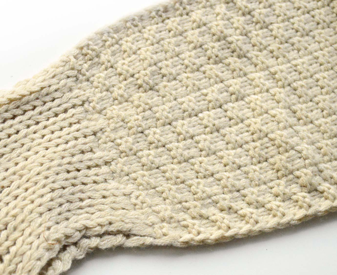 Sjaal 'Knit Beige'