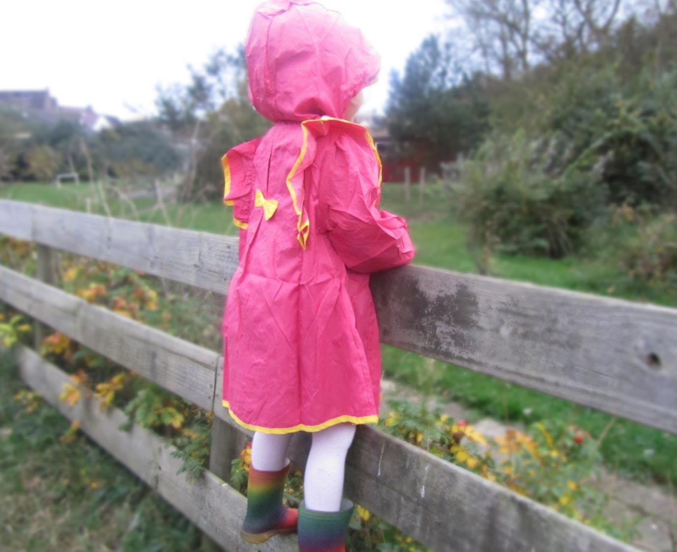 Kinder regenjas ' Isa'