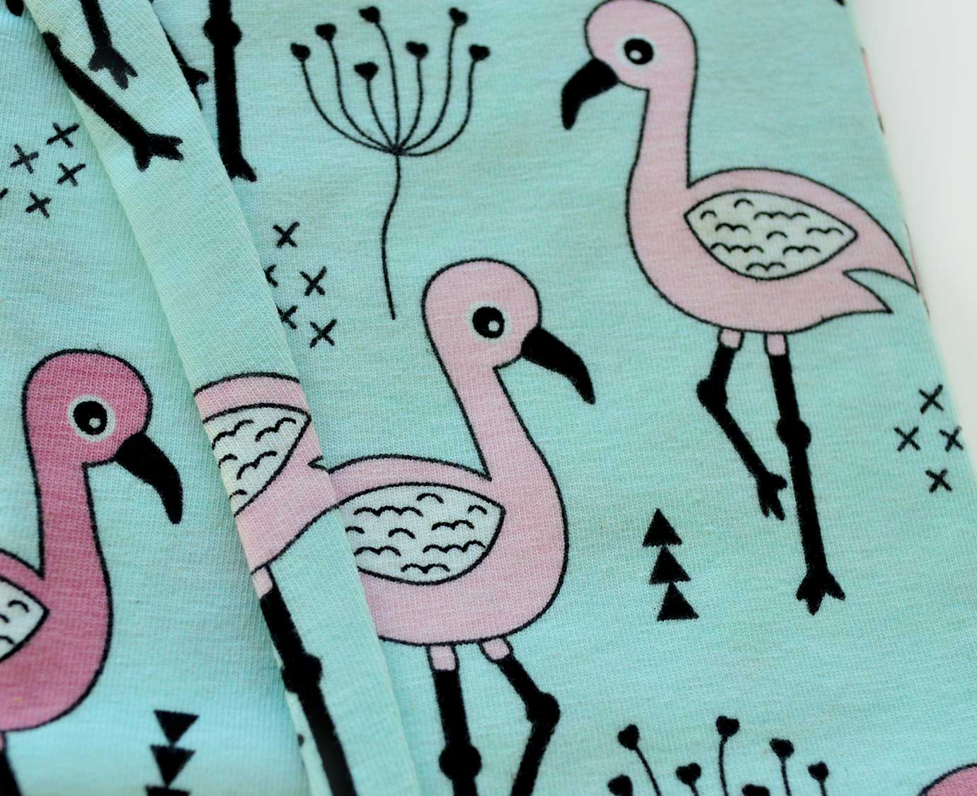 "Legging ""Sweet flamingo"" kleur"