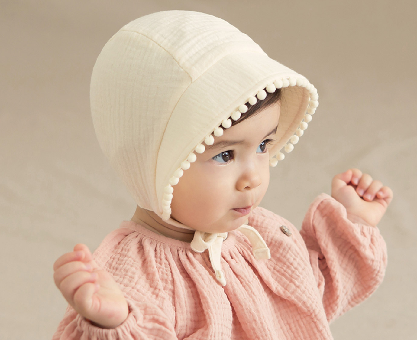 """Bonnet """"Isabel Ivory"""""""
