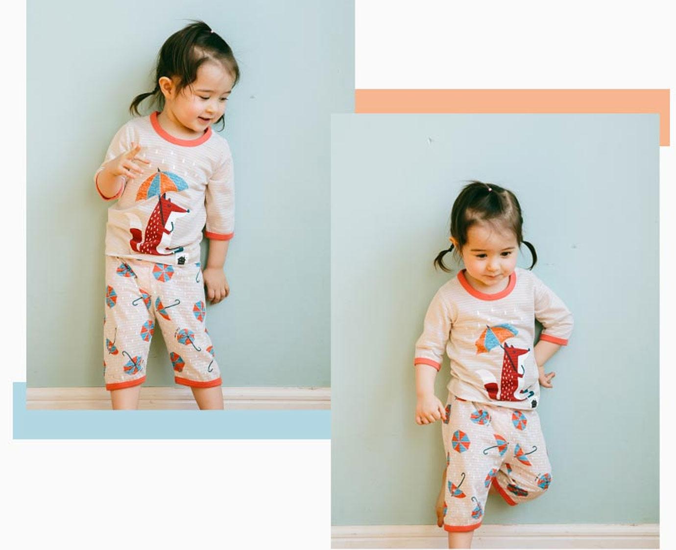 Pyjama 'Rainy Fox'