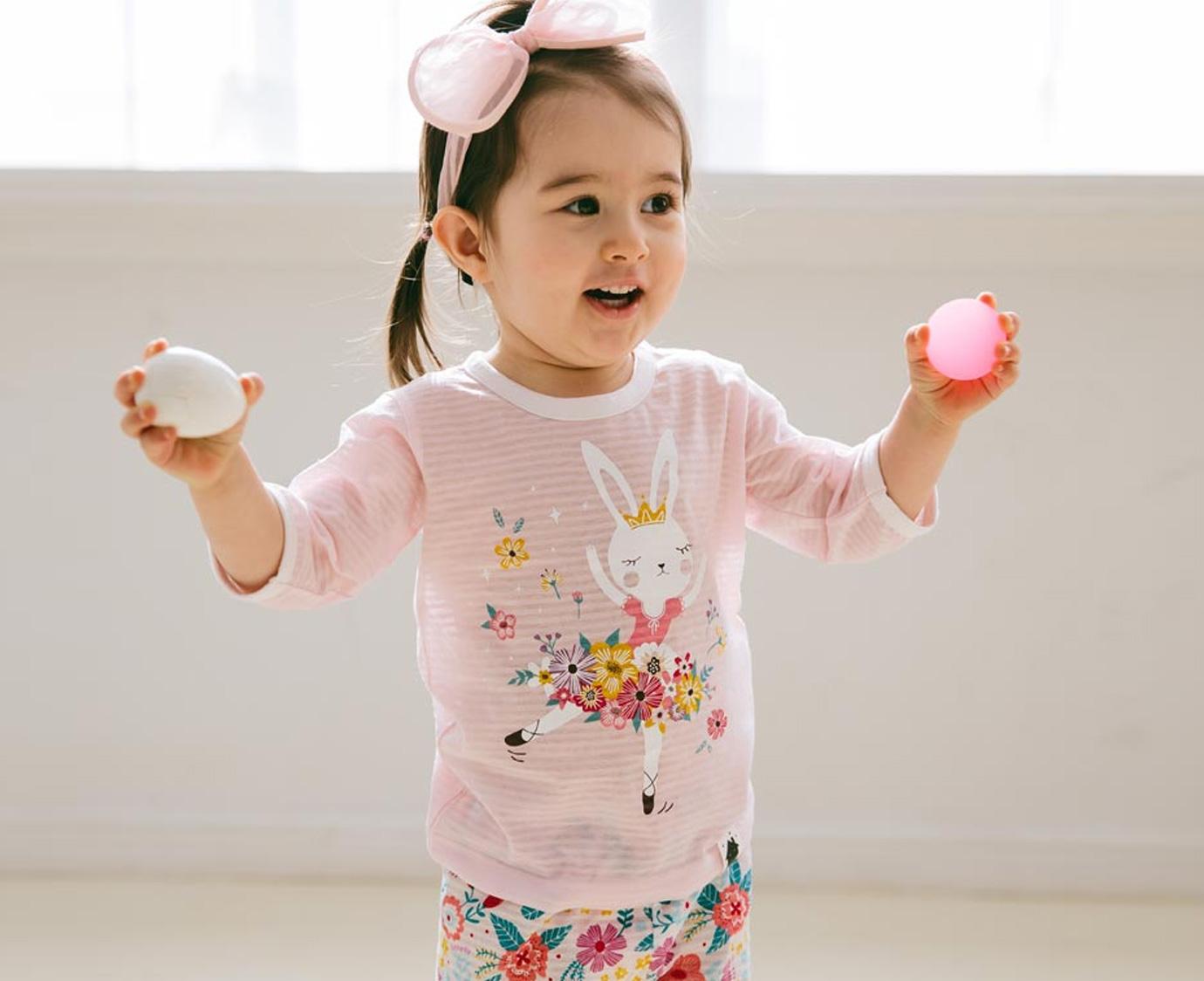 Pyjama 'Ballerina' kleur