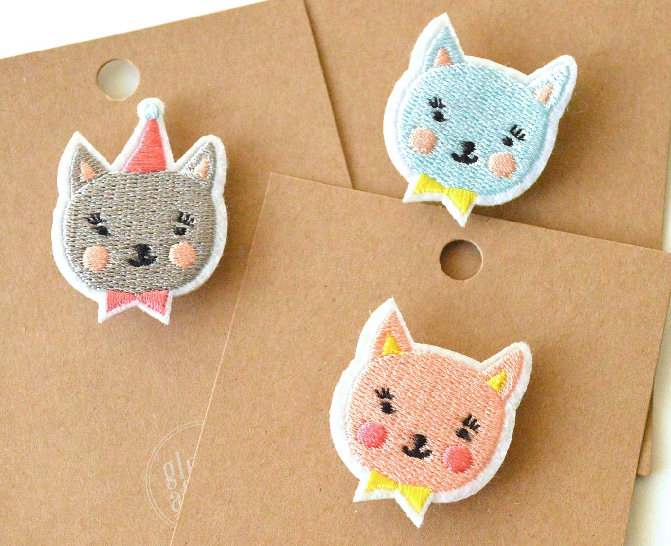 Broche 'Party Cat'