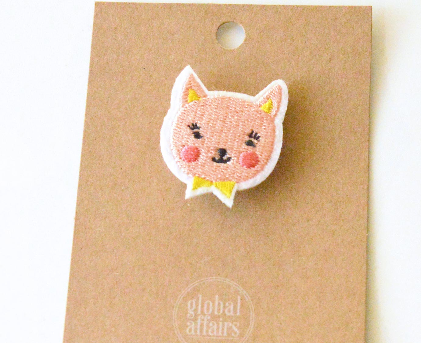 Broche 'Party Cat' 4