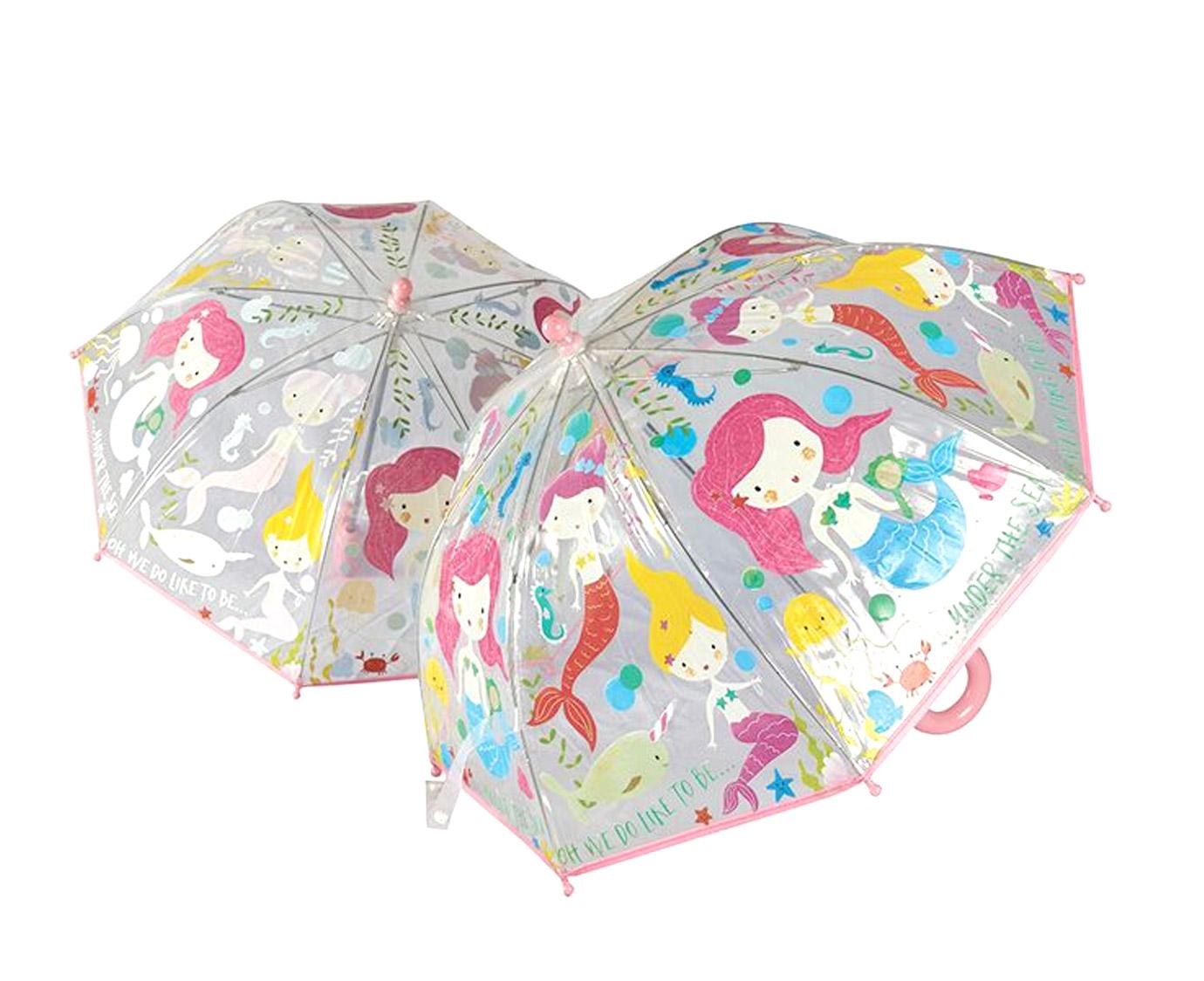 Paraplu 'Mermaid' kleur