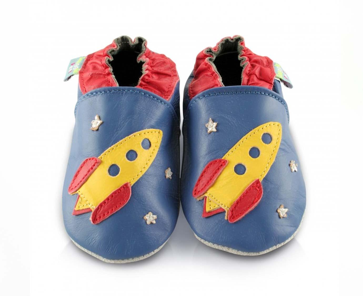 "Babyslofjes ""Rocket"" kleur"