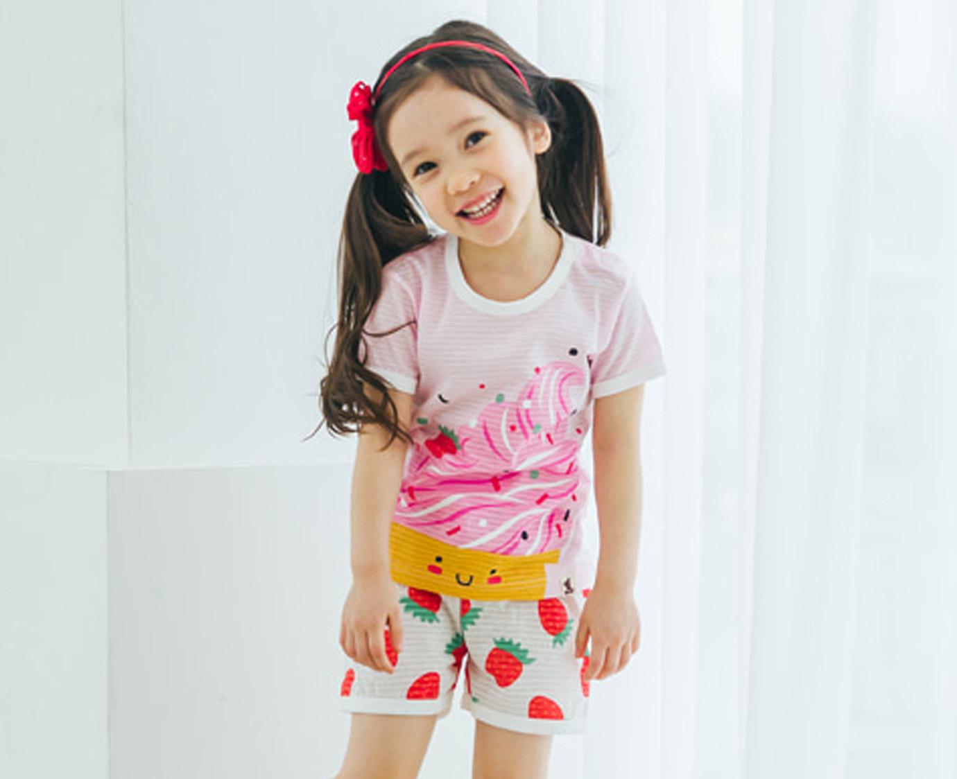 Pyjama 'Strawberry Ice' mt 104-110