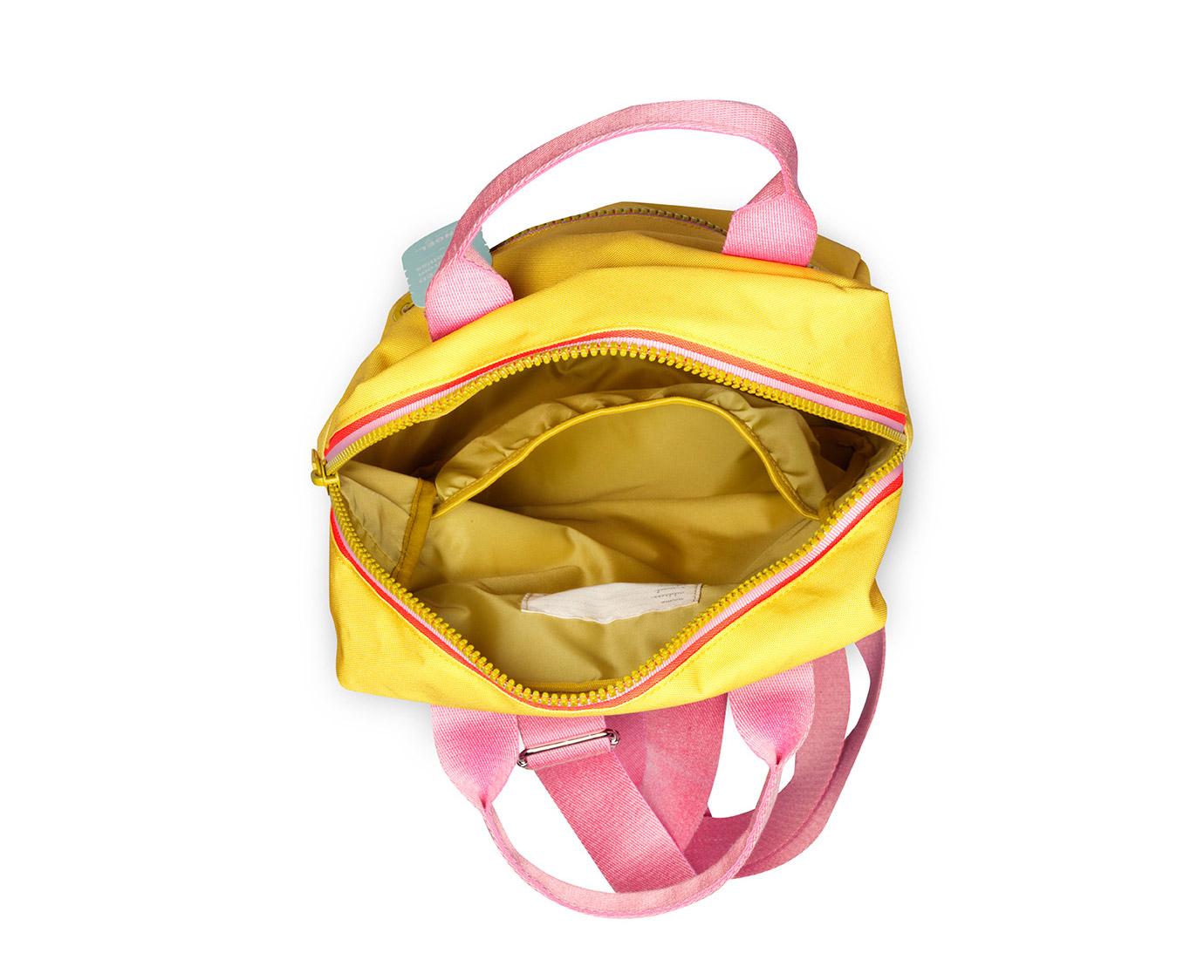 Rugtas large 'Zipper Yellow'