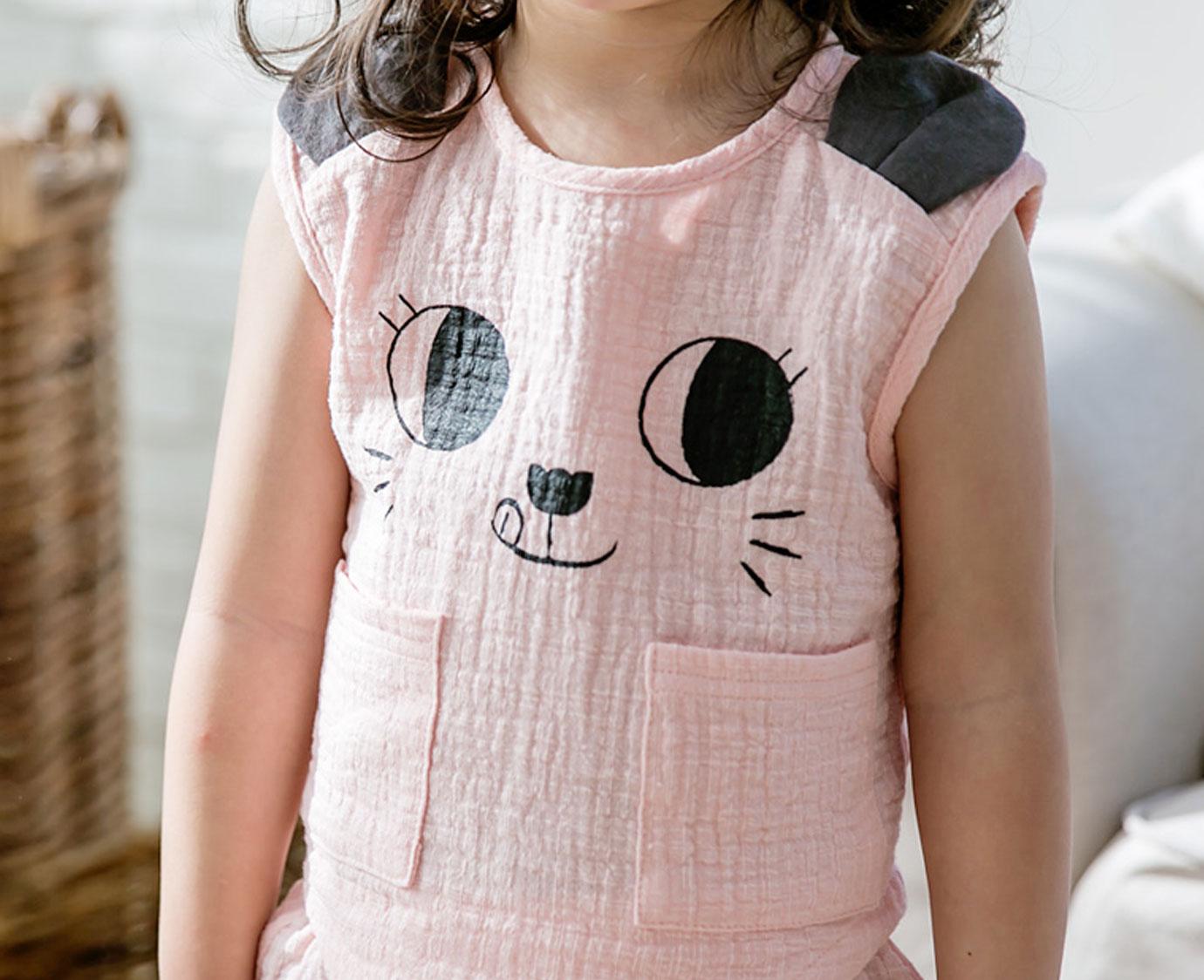 Loungeset 'Cat Pink'