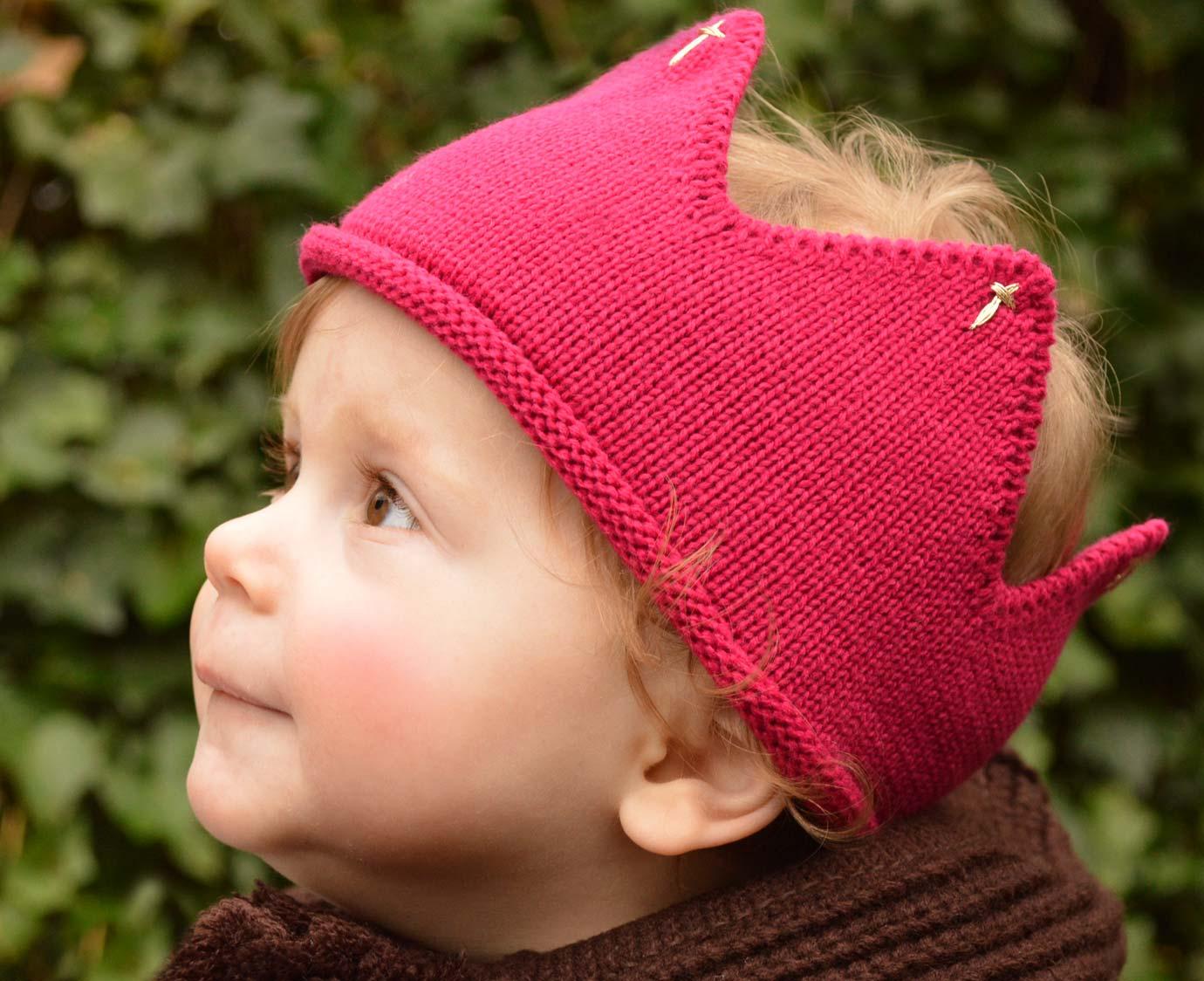 Kroontje 'Pink' kleur