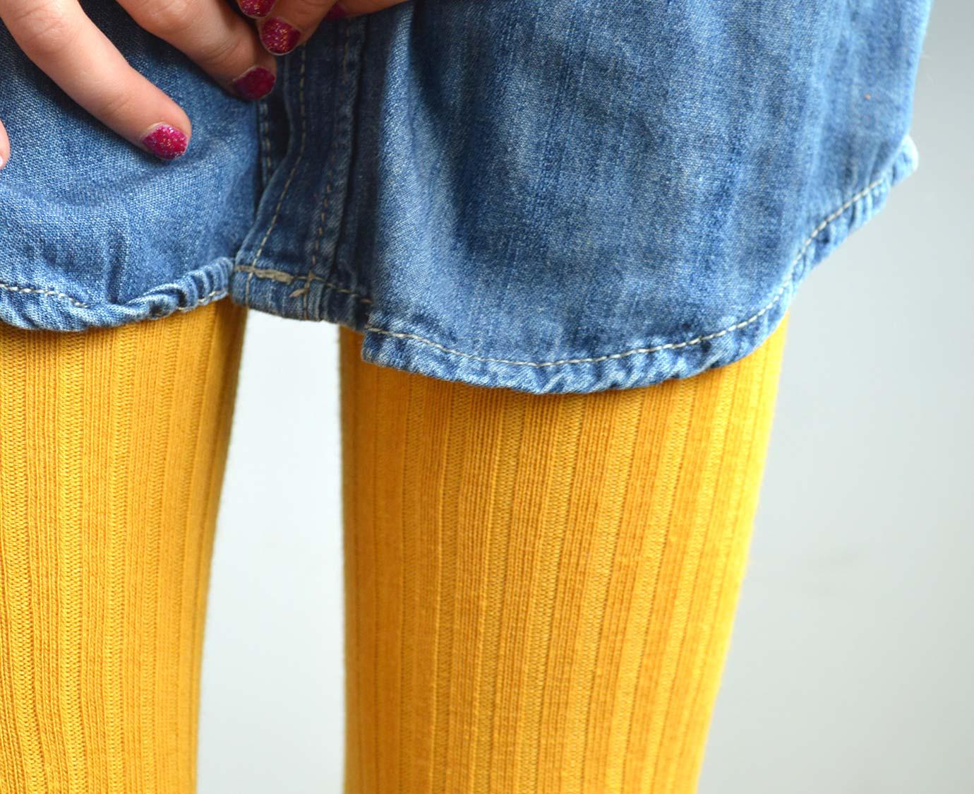 Maillot 'Rib Mustard'