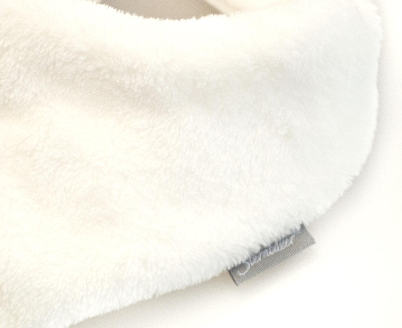 Sjaal bandana 'Ecru'