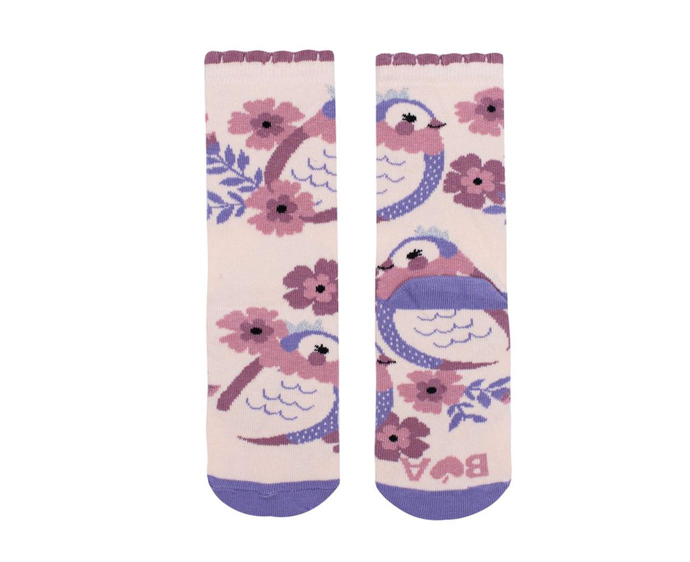 Sokken 'Princess birds'