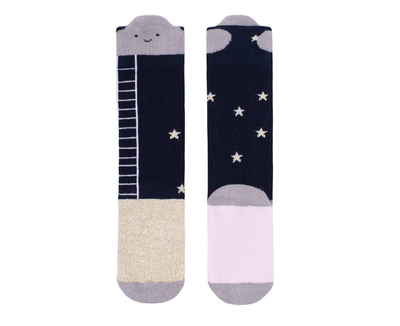 "Kousen ""Reach for the stars"" kleur"
