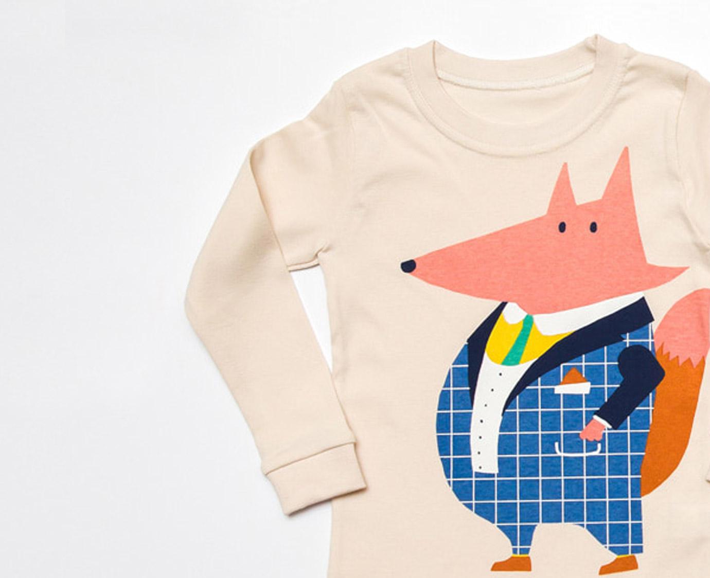 Pyjama 'Gentle Fox'