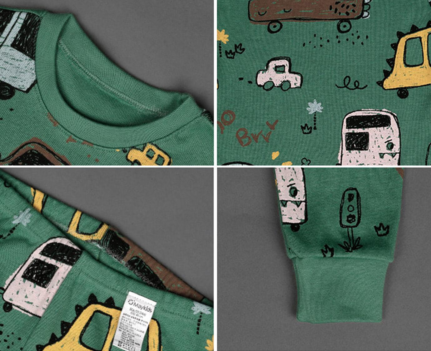 Pyjama 'Dino Truck'