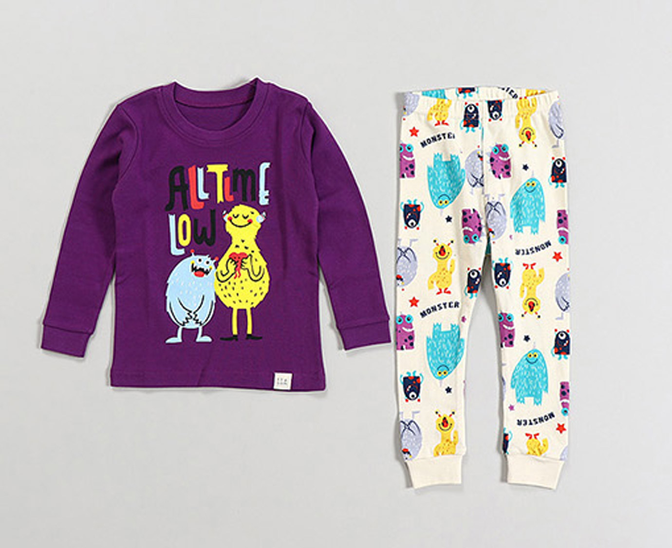 "Pyjama ""Monsters"" kleur"