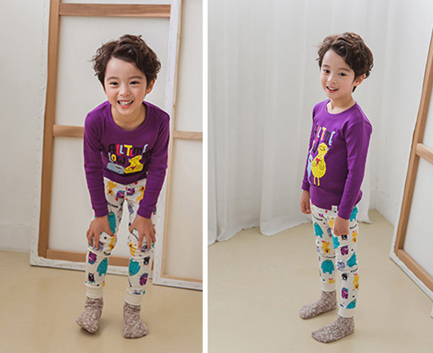 "Pyjama ""Monsters"" 3"