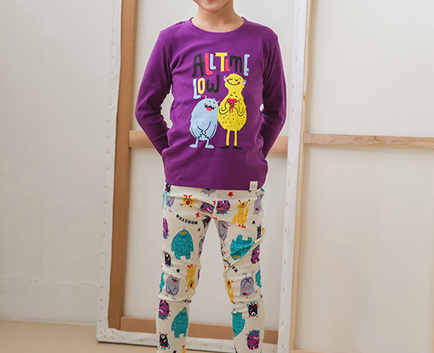 "Pyjama ""Monsters"" 5"
