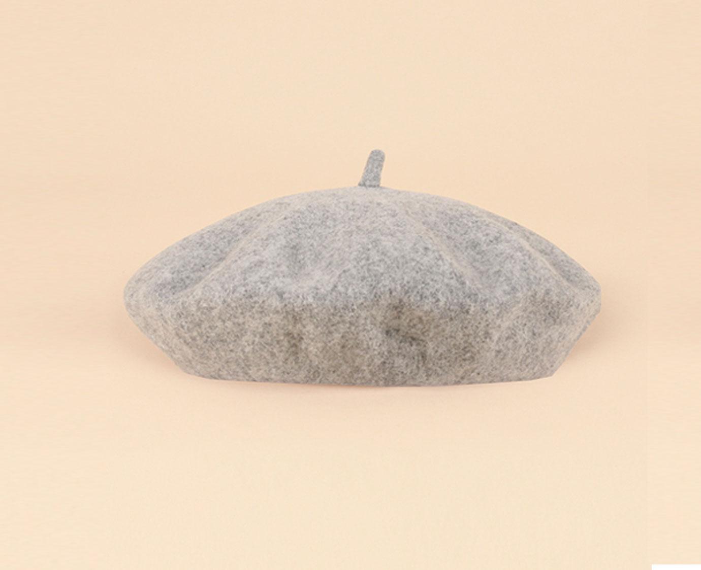 """Baret """"Blooming wool grey"""""""