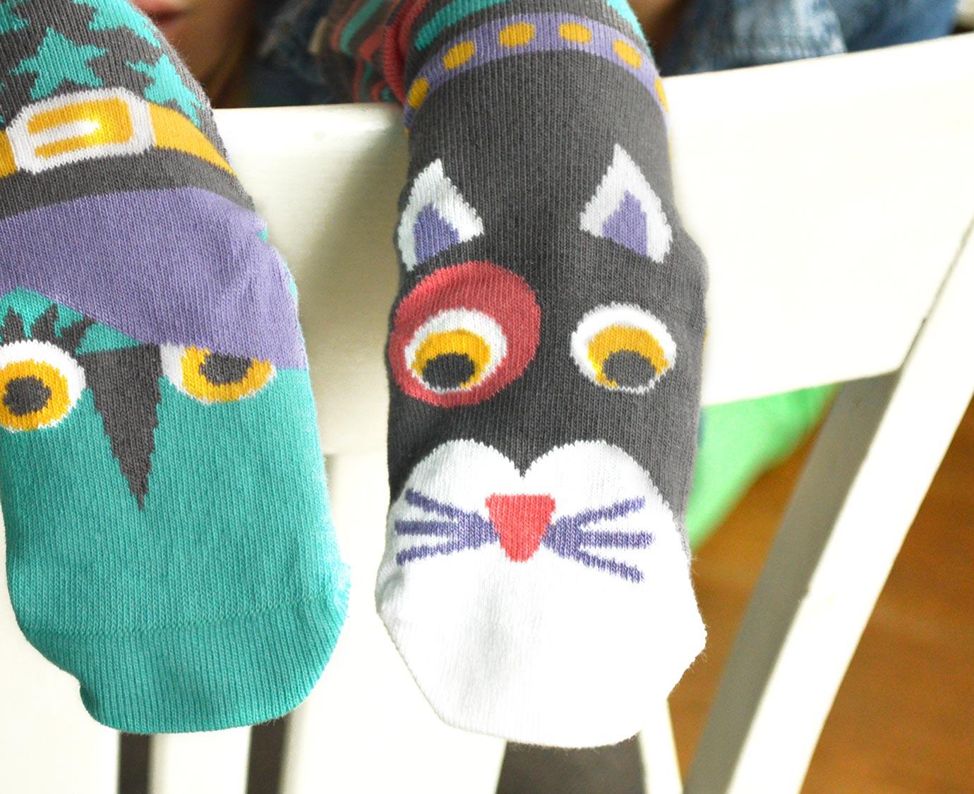 Sokken 'Zwarte kat'