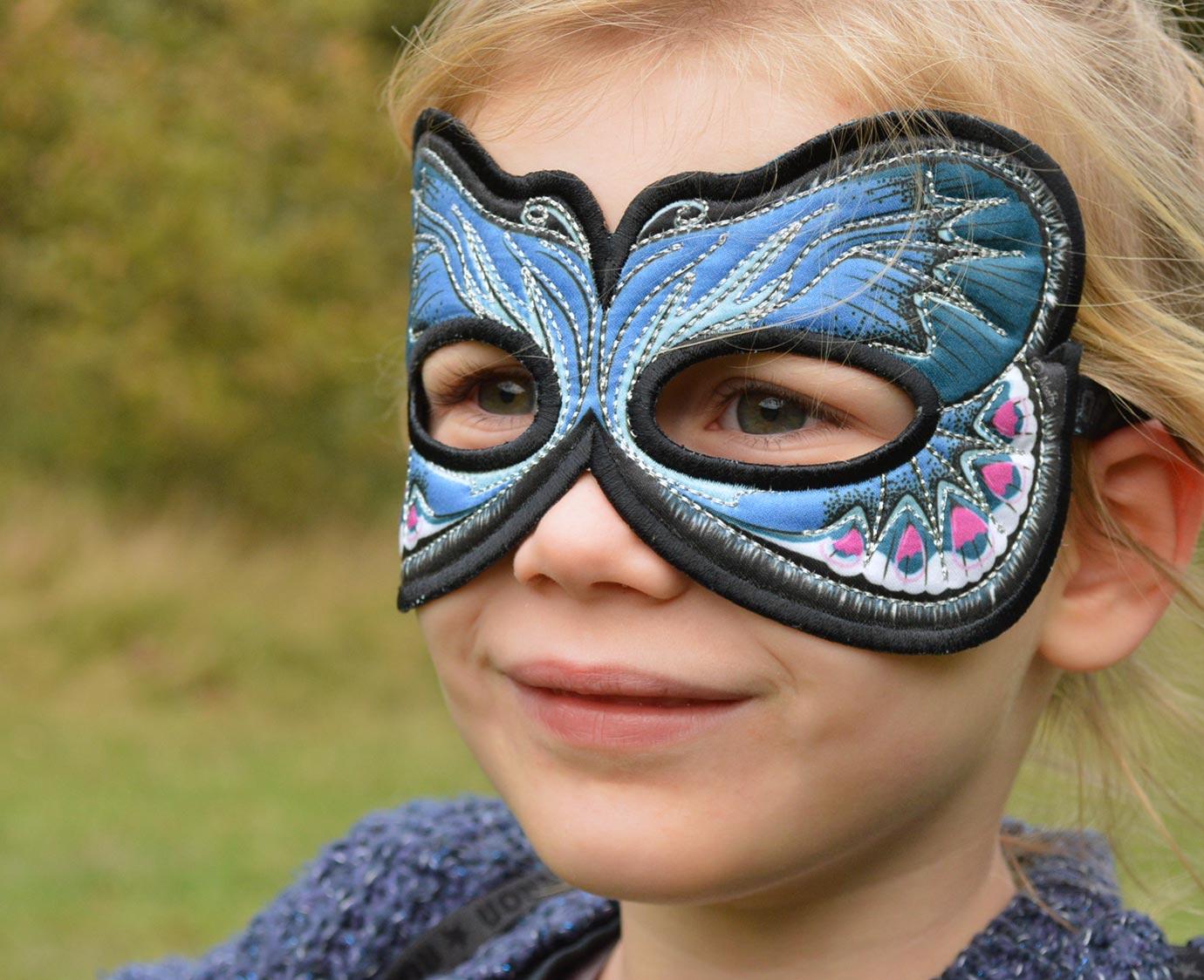 Masker 'Blue Karner'