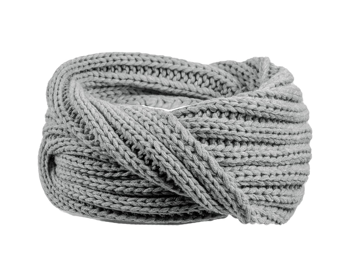 Kindersjaal 'Grey knit'