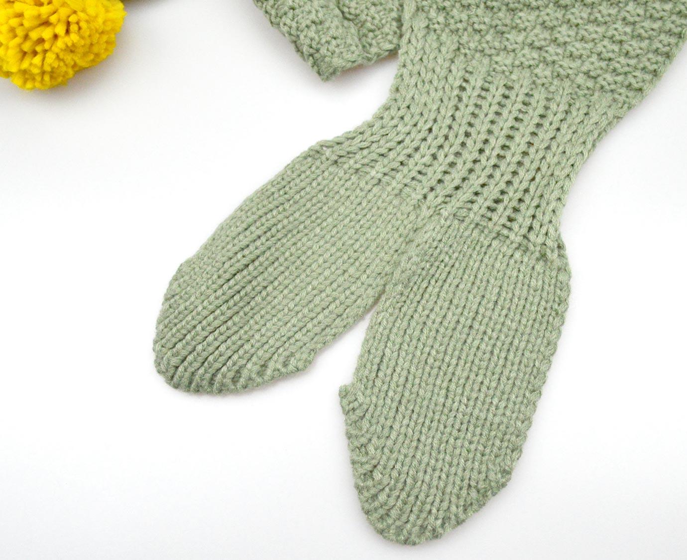 "Sjaal ""Knit Kaki"""