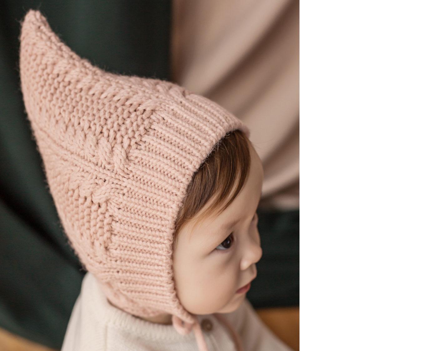 "Muts ""Pixie knit pink"""