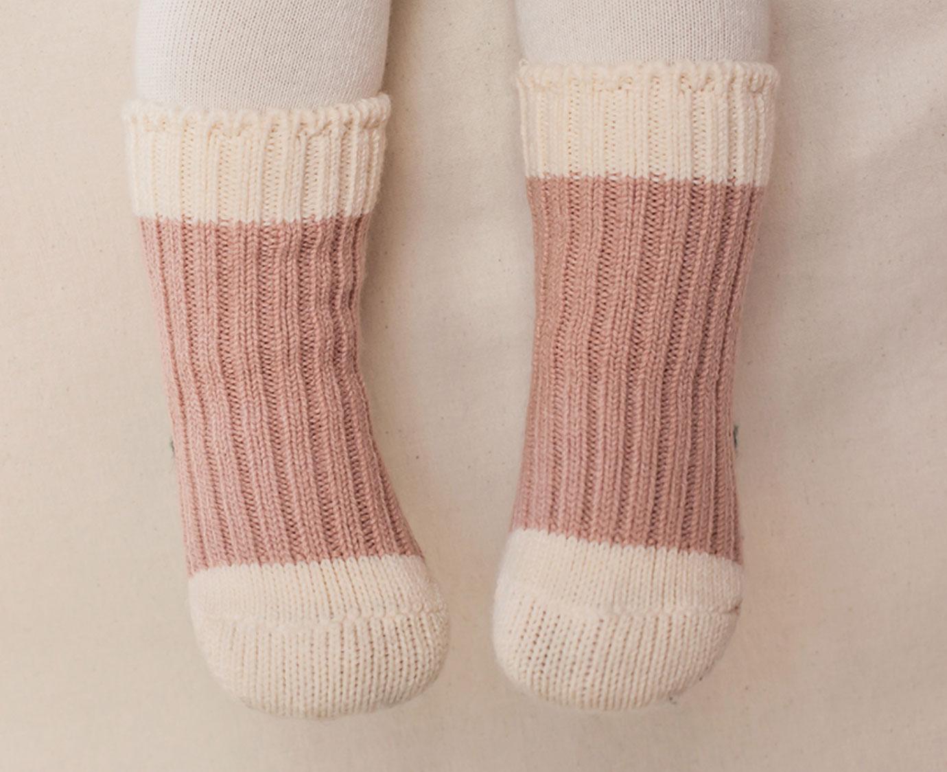 Sokken 'Retro pink'