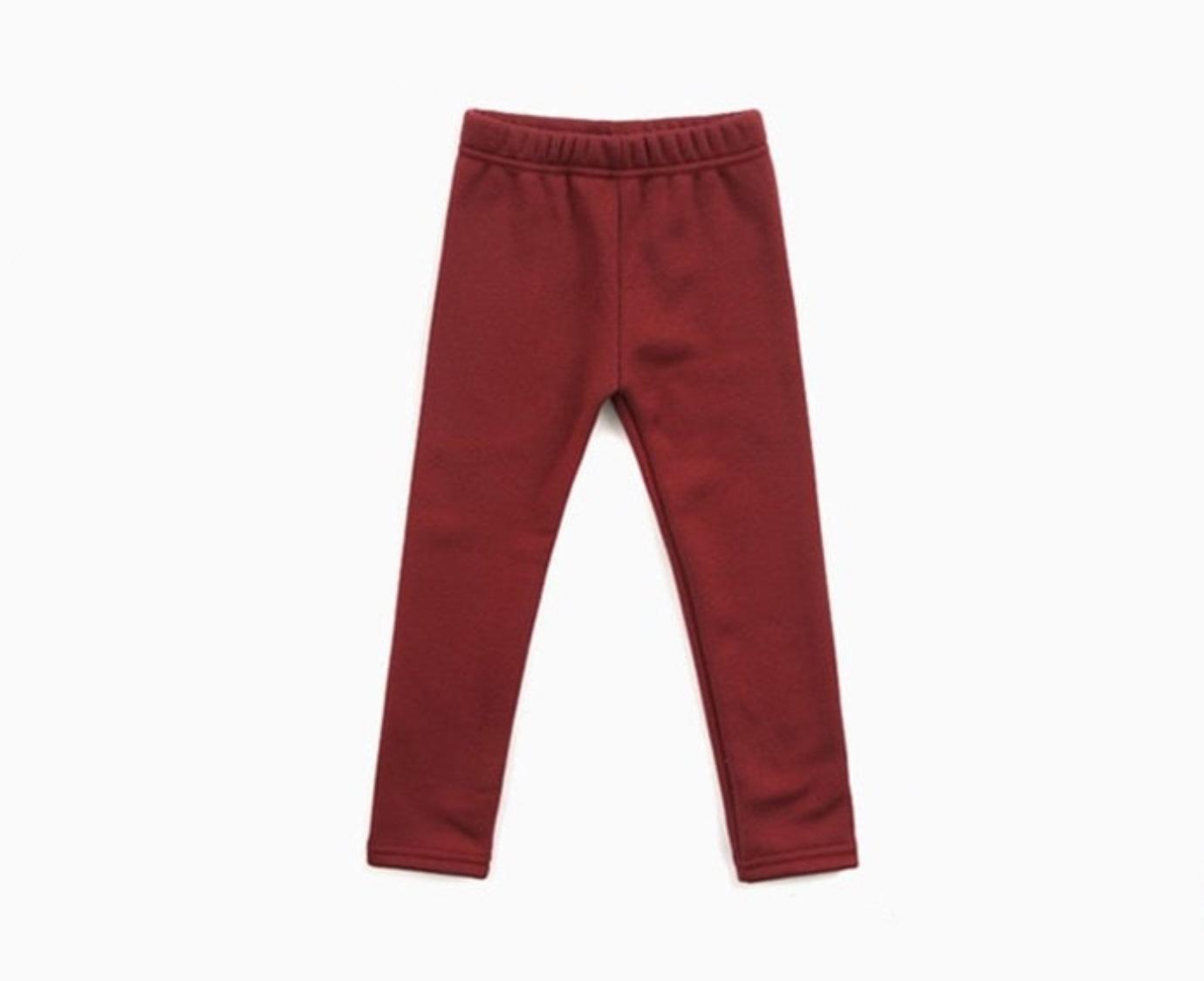 Legging 'Winter red'