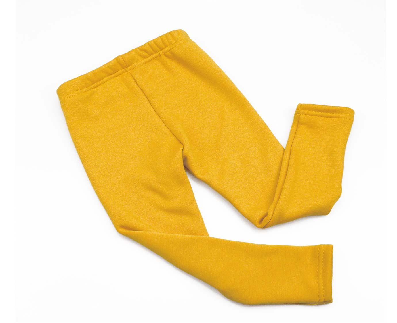 Legging 'Winter mustard'