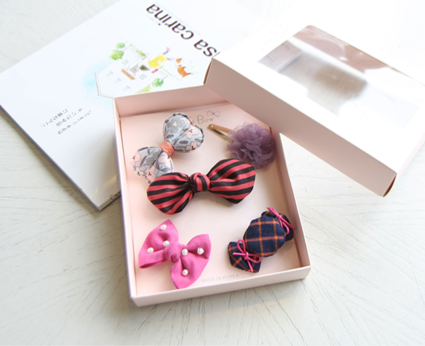 """Gif box """"Hairpin party"""""""