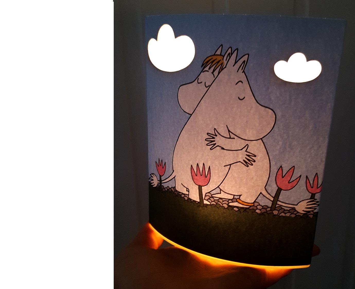 Nachtlampje 'Moomin'