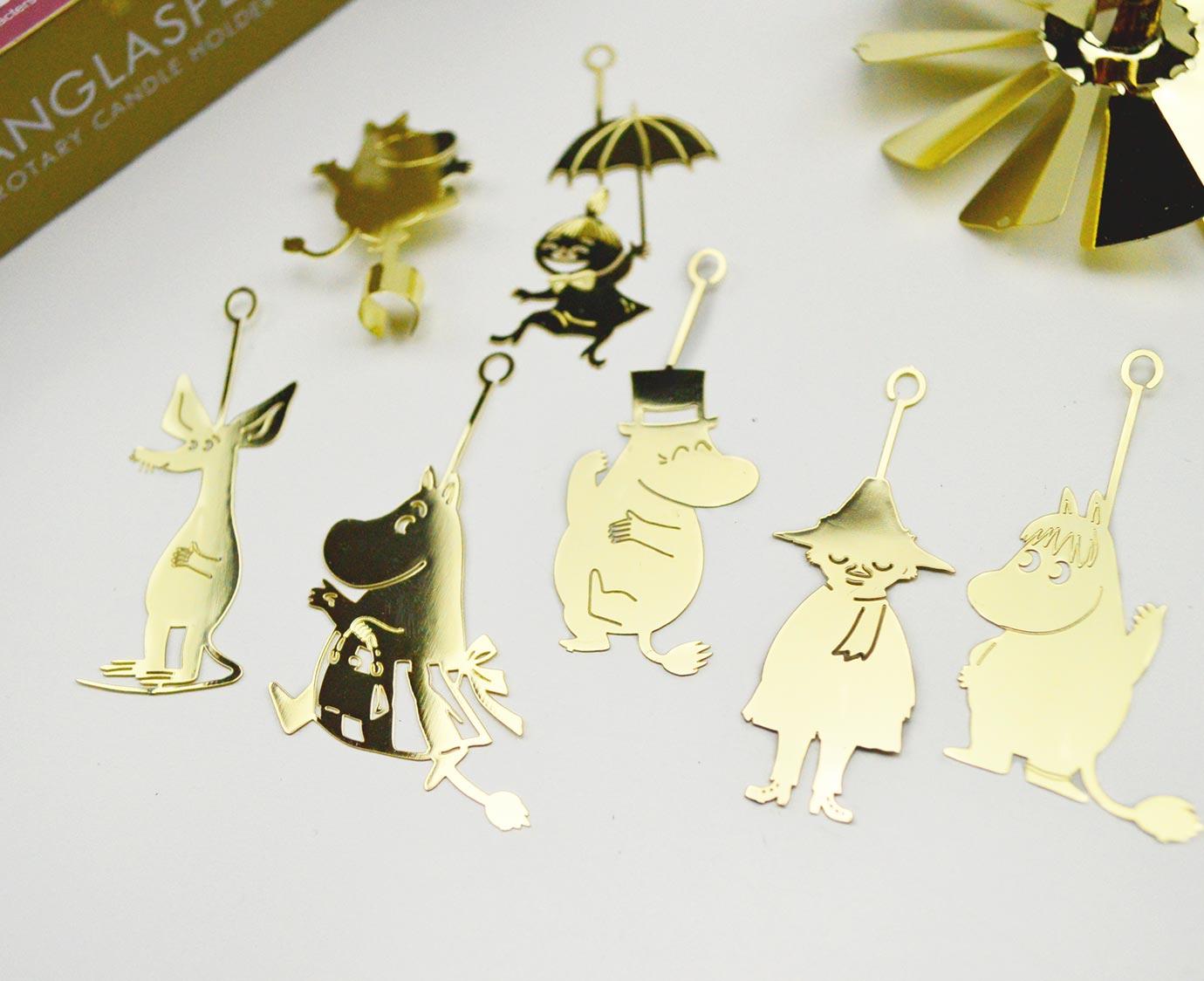 """Carrousel """"Moomin Family goud'"""