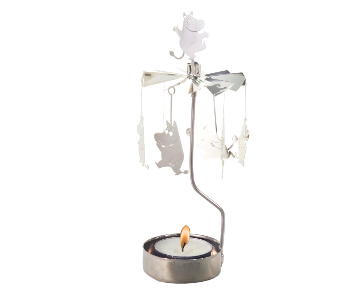 Carrousel 'Moomin zilver' kleur