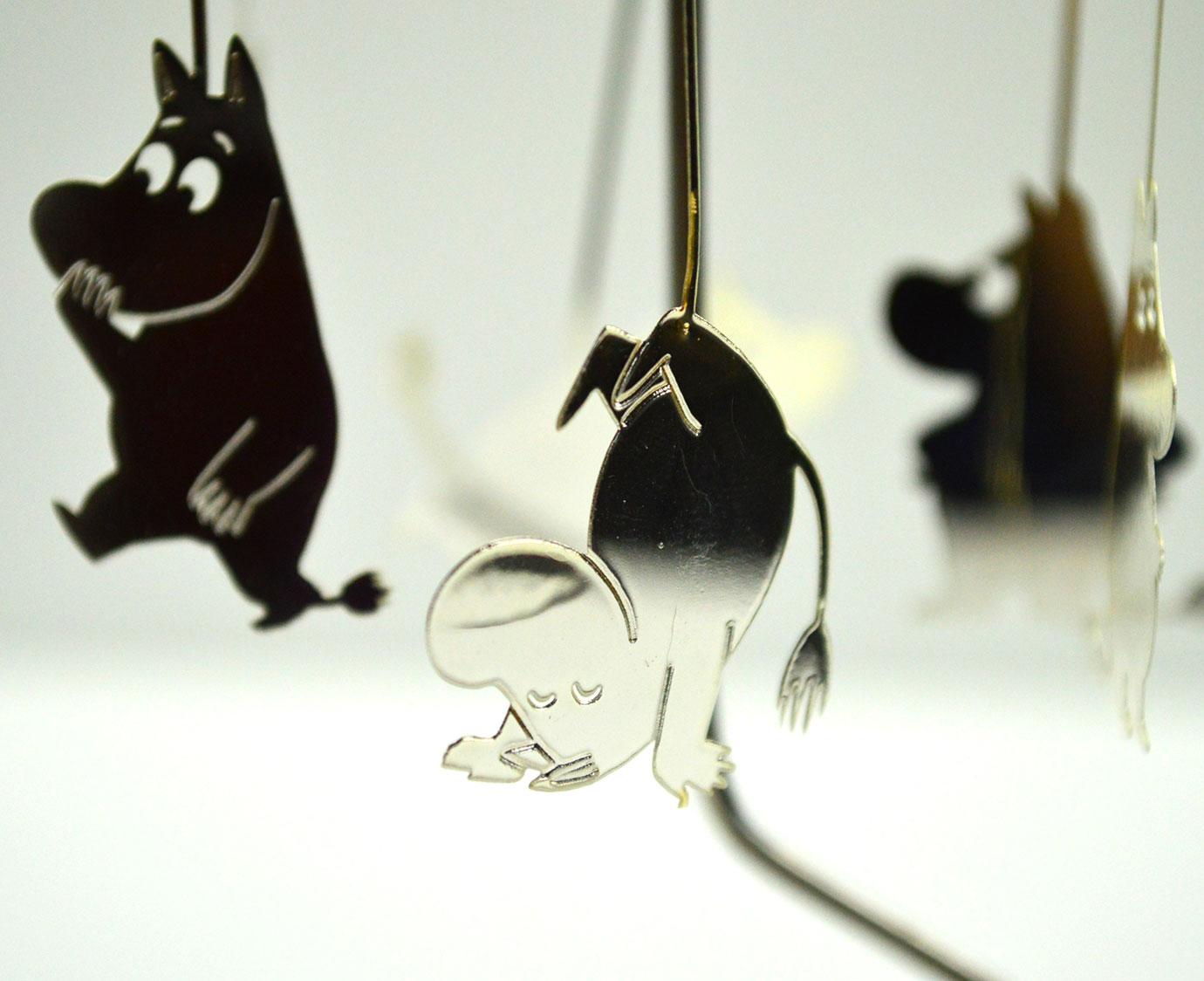 "Carrousel ""Moomin zilver'"