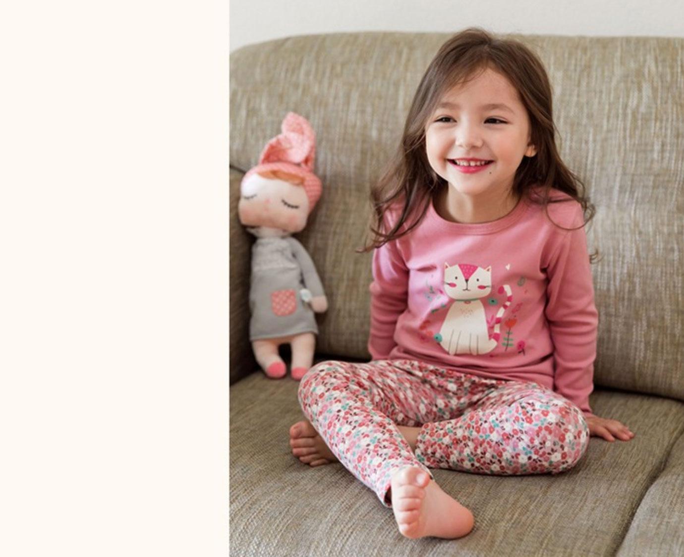 Pyjama 'Flower cat'