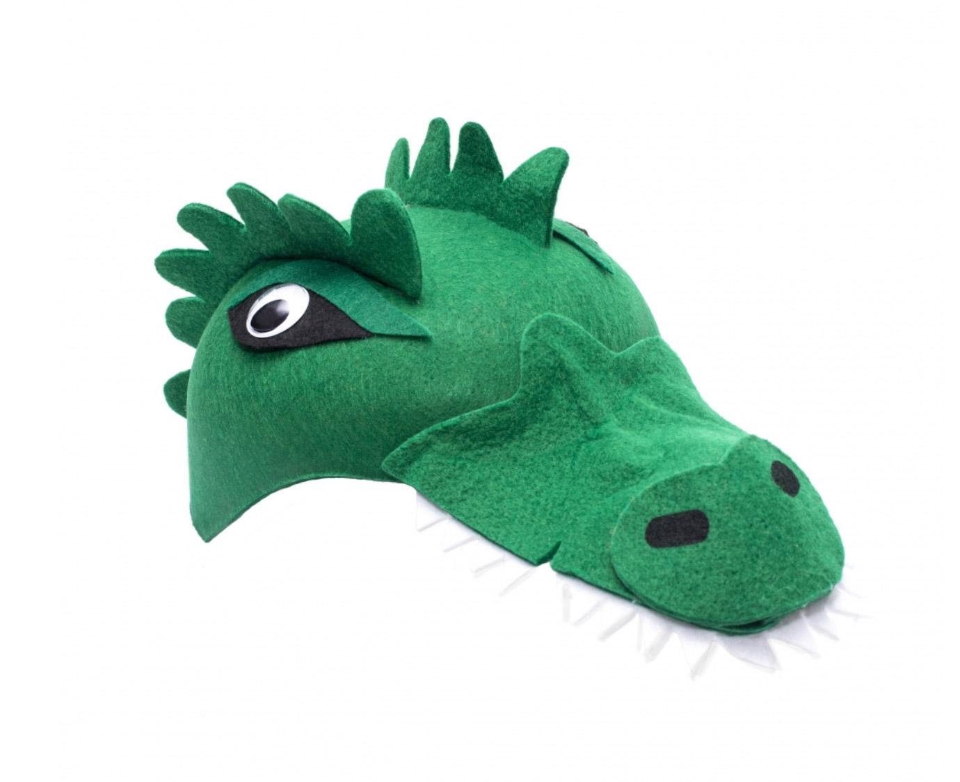 Hoedje 'Krokodil' kleur