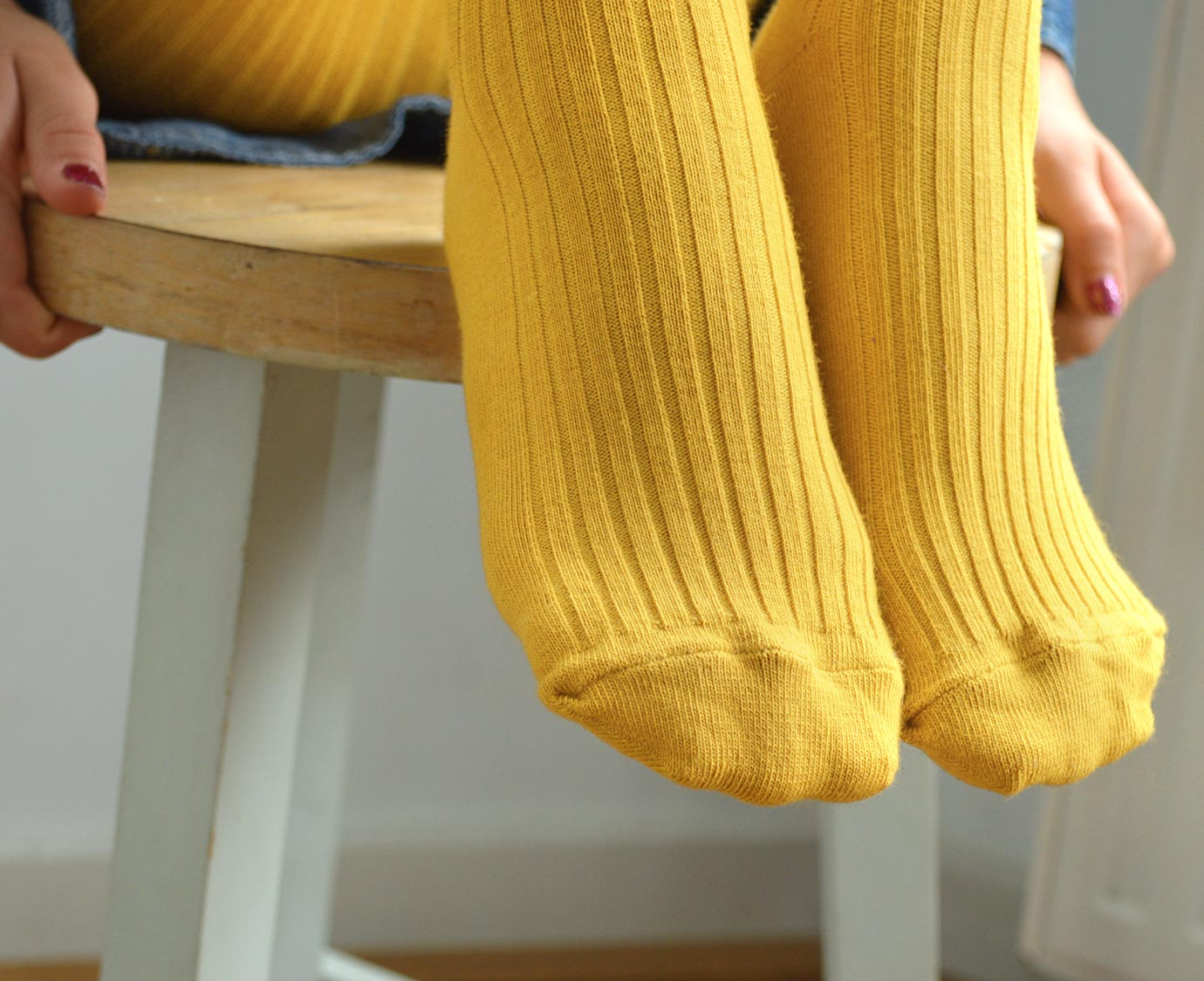 Maillot 'Zomer geel' kleur