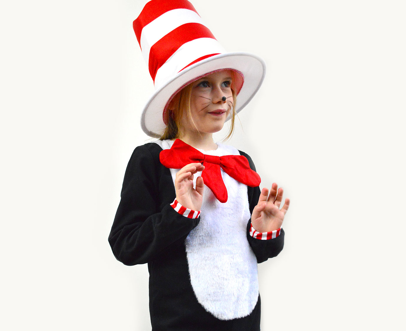 Kostuum 'Cat in the hat' kleur