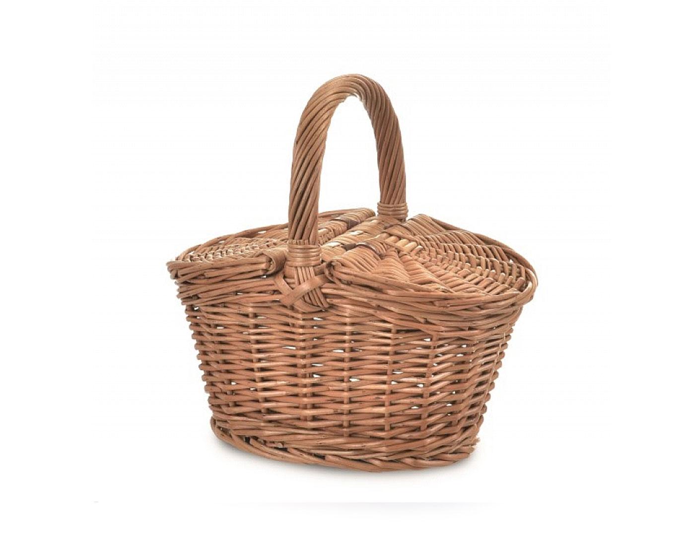 Mandje 'Picknick' kleur