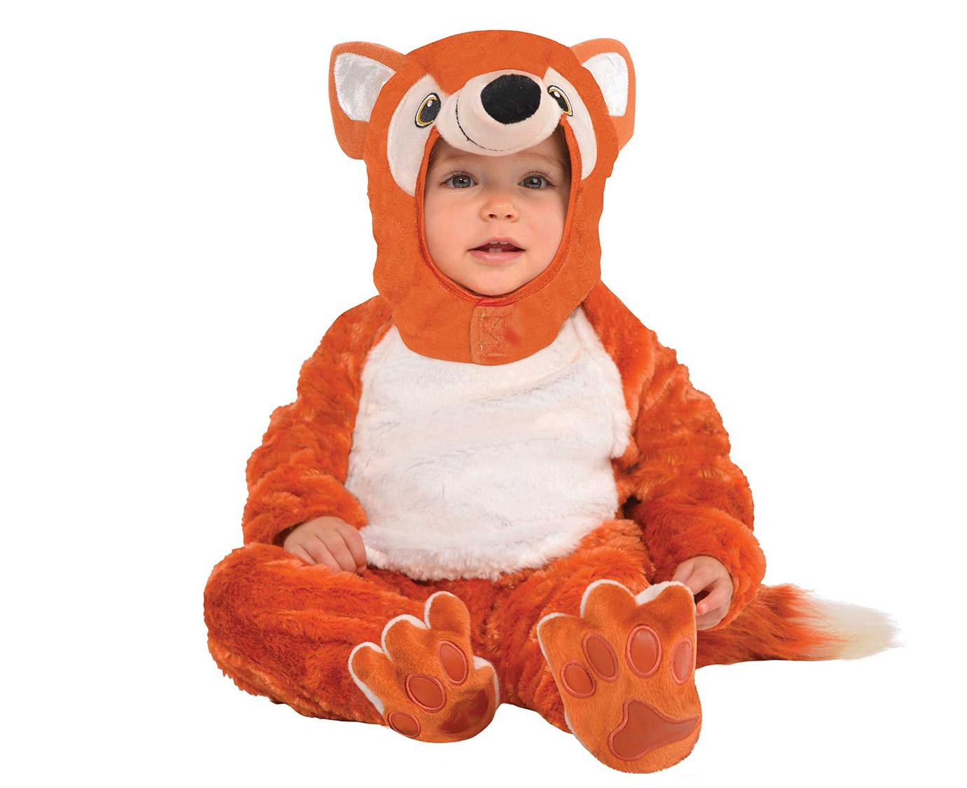 Kostuum 'Furry Fox' kleur